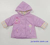 Детская демисезонная куртка 98р для девочки