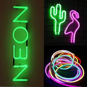 Світлодіодний неон.LED неон 12v. 24v. Неон 220 v.