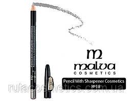 Malva cosmetics олівець з точилкою 18