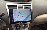 Штатная автомагнитола для Toyota Vios 2008-2013 на ANDROID 8.1 (М-ТВ-9), фото 1