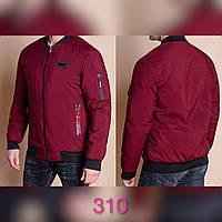 """Куртка-бомбер чоловіча демісезонна, розміри 48-56 (3ол) """"SPRING"""" недорого від прямого постачальника, фото 1"""