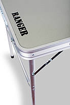 Стол компактный складной Ranger Plain 33х45х60см  для дома, дачи, рыбалки, фото 2