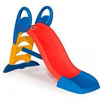Горка детская пластиковая Smoby 820500 150 см спуск для детей, фото 1