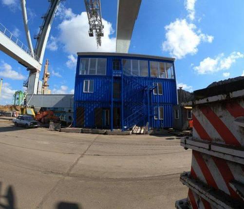 Модульний офіс з 9 морських контейнерів, фото 2