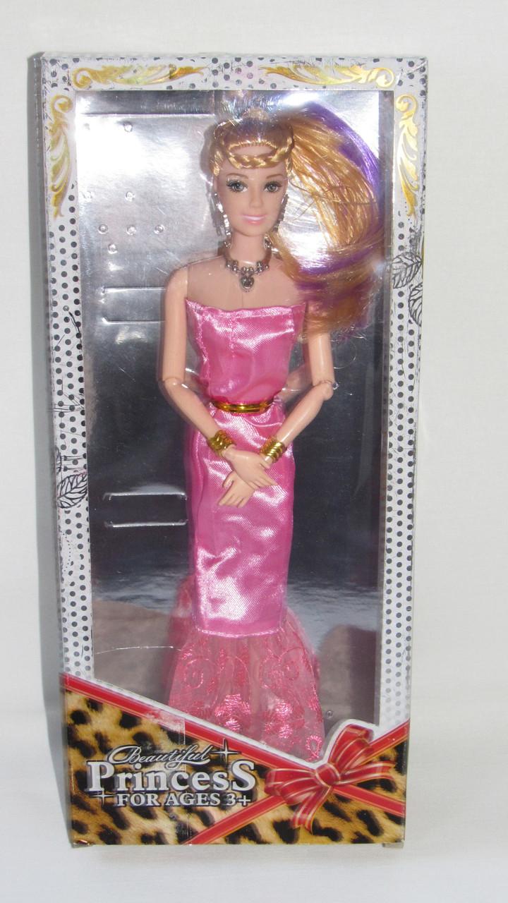 Кукла в коробке принцесса барби на шарнирах 1214А