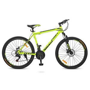 """Салатовый спортивный велосипед Profi26"""" G26YOUNG A26.1M"""