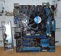 1155 Материнская плата ASUS P8H61-M LE/USB3 + Процессор Intel Core i3-2120 2 ядра 4 потока