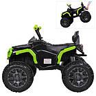 Детский электрический квадроцикл Bambi M 3156EBLR-2-5 черно-зеленый, фото 2