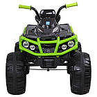Детский электрический квадроцикл Bambi M 3156EBLR-2-5 черно-зеленый, фото 3