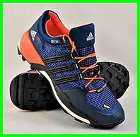 Кроссовки Мужские Adidas Terrex Синие Адидас (размеры: 40,41,42,43,44) Видео Обзор