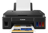 Принтер струйний кольоровий 3в1 (Принтер, Ксерокс, Сканер) Canon PIXMA G3411, фото 1