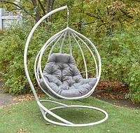 Підвісне крісло, подвесное кресло, кресло кокон, крісло кокон, садовая качеля, кресло с ротанга Хелена