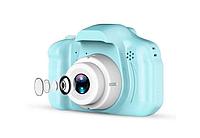 Детский фотоаппарат GM 14 голубого цвета
