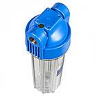 Корпус фильтра натрубный усиленный 10 бар, для механической очистки AquaFilter FHPR34-HP-S, фото 2