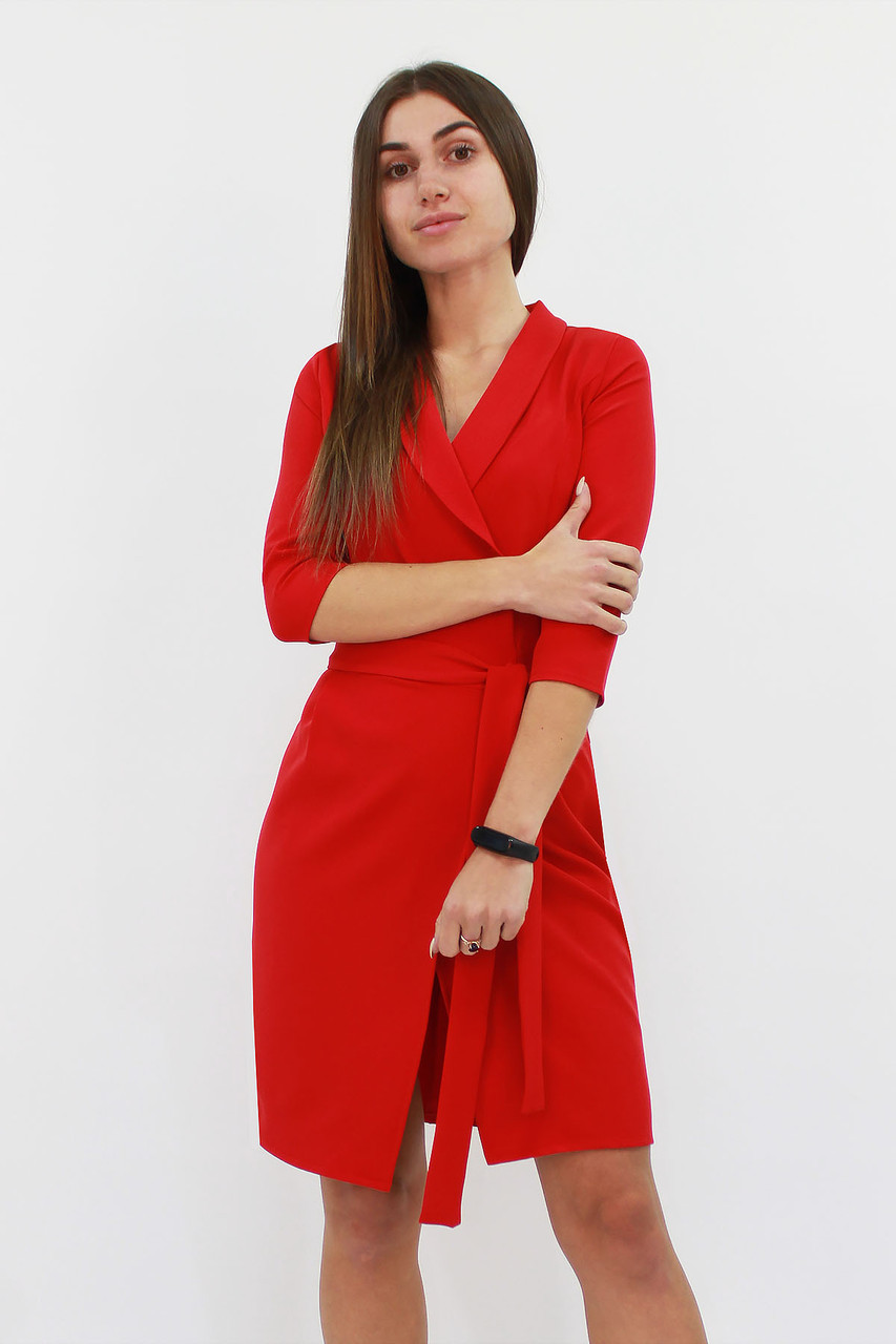 S, M / Коротке коктейльне плаття Alisa, червоний