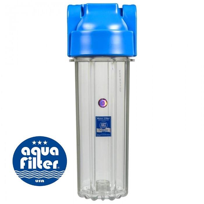 Корпус фильтра натрубный усиленный 10 бар, для механической очистки AquaFilter FHPR1-HP-S