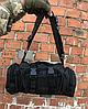 Рюкзак-сумка тактична Molle на пояс або плече, 6 Літрів, Чорний