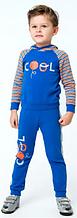 К-т (кофта+штани) хл. Smil 116429/115415, 116 синій
