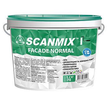 Акриловая краска для наружных и внутренних работ Facade Normal 14 кг