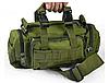 Рюкзак-сумка тактическая Molle на пояс или плечо, 6 Литров, Олива