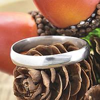 Серебряное обручальное кольцо П1014 вес 2.1 г размер 20