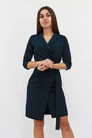 S   Коротке коктейльне плаття Alisa, темно-зелений