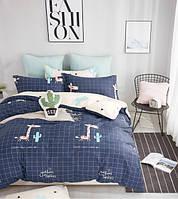 Комплект постельного белья сатин-фотопринт Bella Villa B-0194 Sn