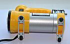 Автомобільний компресор AC+PRO.12 V YELLOW LARGE SINGLE BAR компресор насос для шин вашого автомобіля, фото 2