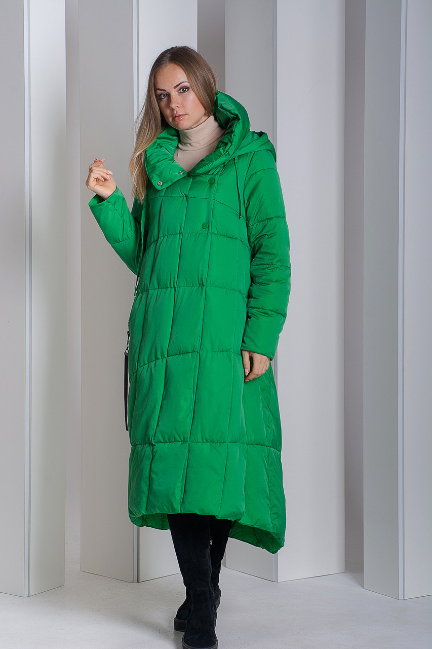 Пуховик Boruoss 2008 Зеленого цвета M