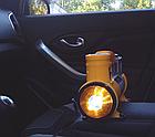 Автомобільний компресор AC+PRO.12 V YELLOW LARGE SINGLE BAR компресор насос для шин вашого автомобіля, фото 6