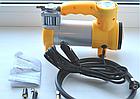 Автомобільний компресор AC+PRO.12 V YELLOW LARGE SINGLE BAR компресор насос для шин вашого автомобіля, фото 4