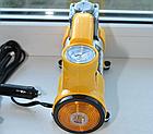 Автомобільний компресор AC+PRO.12 V YELLOW LARGE SINGLE BAR компресор насос для шин вашого автомобіля, фото 5
