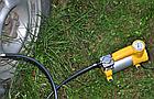 Автомобільний компресор AC+PRO.12 V YELLOW LARGE SINGLE BAR компресор насос для шин вашого автомобіля, фото 7