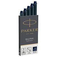 Картриджи Parker Quink 5 шт синие