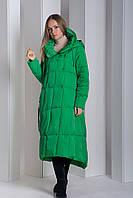 Пуховик Boruoss 2008 Зеленого цвета XL, фото 1