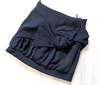 Р.128-152 школьная форма - юбка чёрная, фото 1