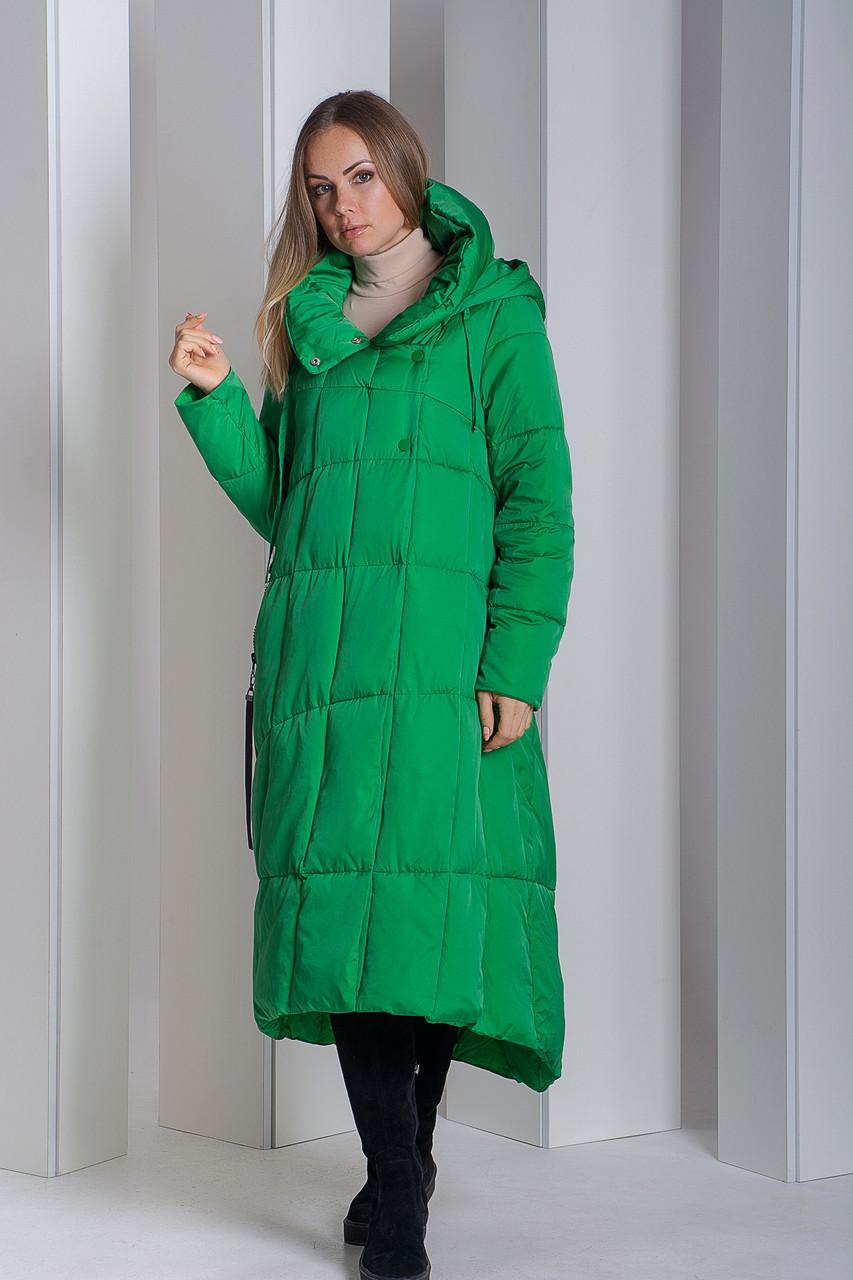 Пуховик Boruoss 2008 Зеленого цвета 2XL