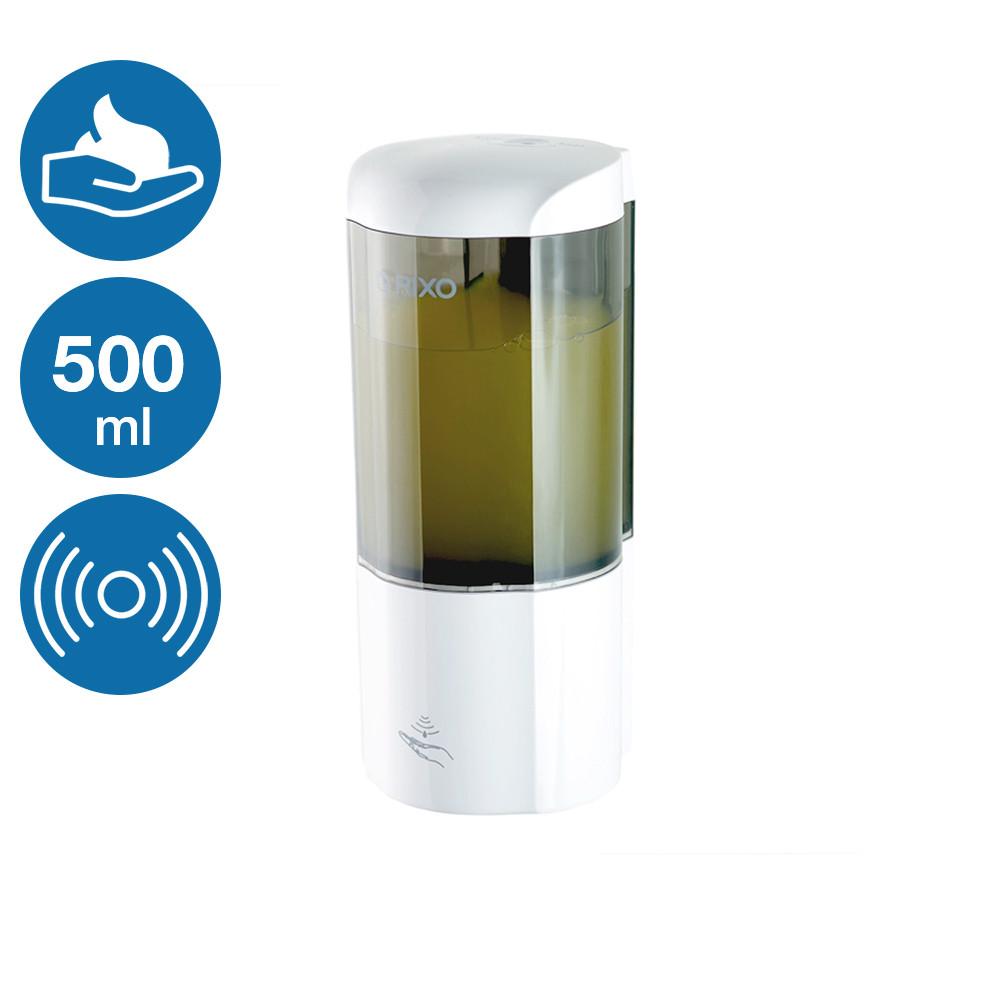 Сенсорный автоматический дозатор мыла-пены 500 мл Rixo Lungo BPSA014W работа от 4 батареек
