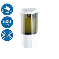 Диспенсер мыла-пены автоматический сенсорный 500 мл Rixo Lungo BPSA014W работа от 4 батареек, фото 1