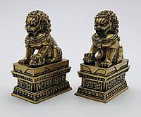 Статуэтки Небесные львы (собачки Фу) маленькие