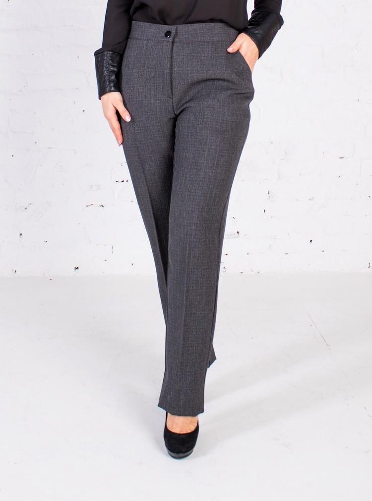 Женские брюки «Кристина» на резинке с высокой посадкой (46-60 р)
