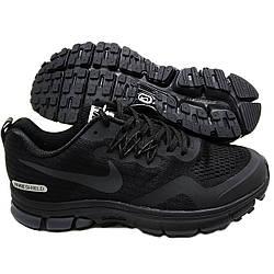 Кроссовки мужские черные вставки вязаная сетка похожие на Nike Joyride