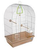 Клетка для мелких декоративных птиц Арка 44*27*65, хром