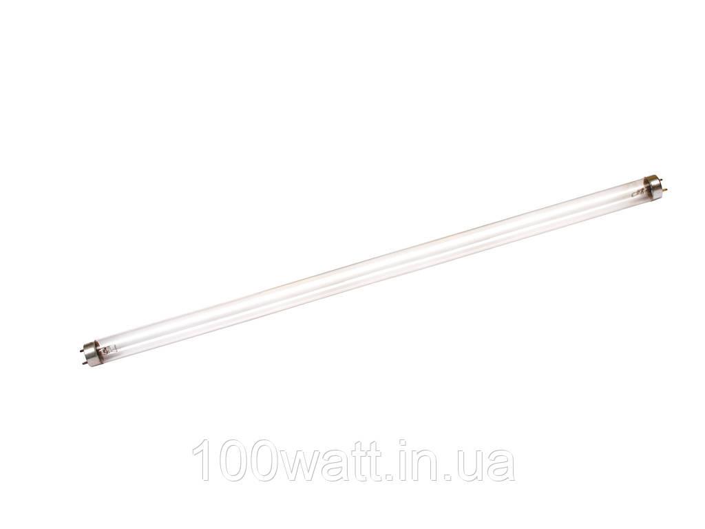 Лампа люминесцентная бактерицидная 30W T8 G13 Delux