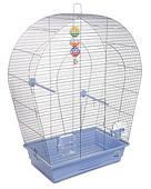 Клетка для мелких и средних декоративных птиц Арка большая 44*27*75, хром