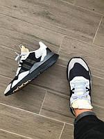 Мужские кроссовки Adidas Nite Jogger Core Black Carbon