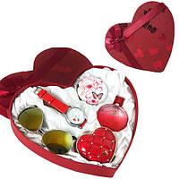 Подарочный набор женский Jesou в Сердце № 33 Красный