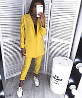 Женский модный классический брючный костюм с пиджаком Разные цвета