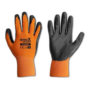 Резиновые рабочие перчатки