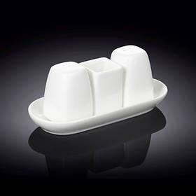 Набор Wilmax на соль и перец зубочистки 4 предмета WL 996005